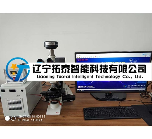 PETRO 200AI coal coke lithofacies analysis system (automatic detection level)